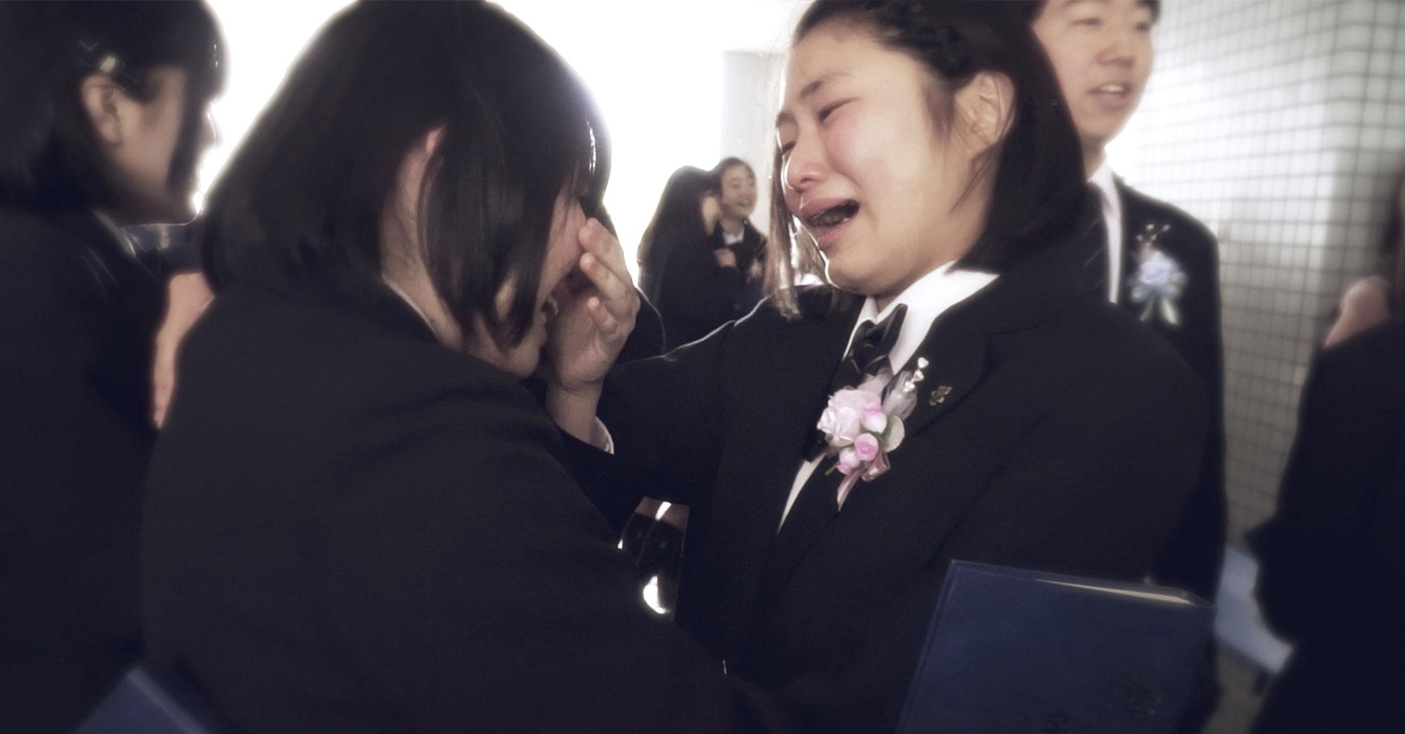 卒業式の動画撮影